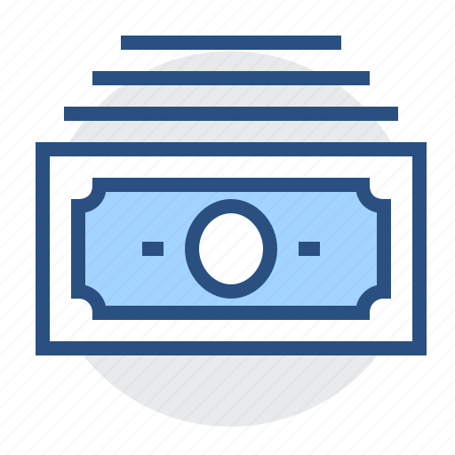 Currency, capital, money, financial, cash, bank, banknote icon