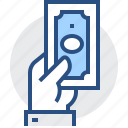 banknote, cash, currency, dollar, money, payment icon