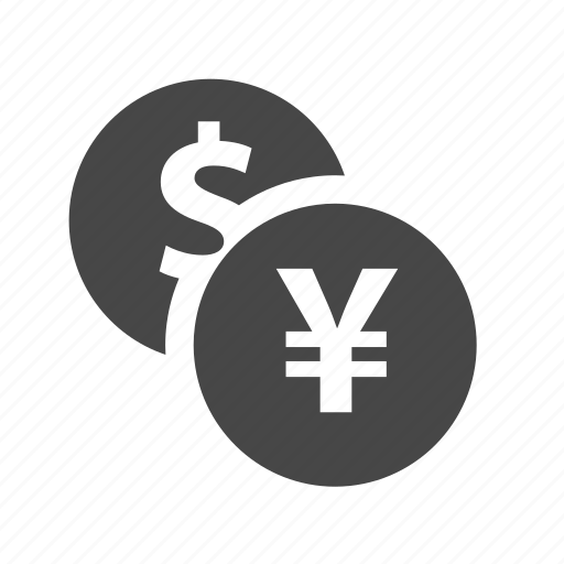coin, dollar, fund, money, yen icon