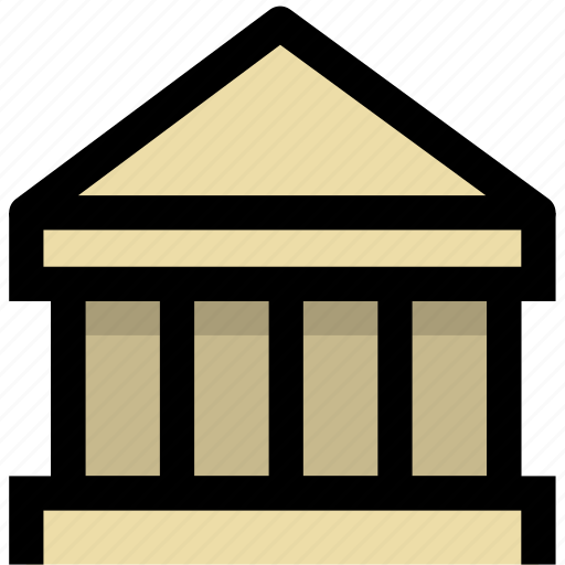 agency, bank, institution, mechanism, organization icon