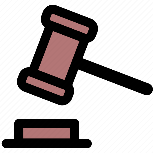 auction, law, legal icon