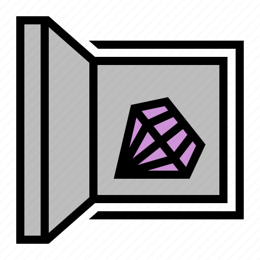 Bank, box, keep, safe, strongbox icon - Download on Iconfinder