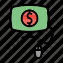 bank, banking, internet, pc, transaction icon