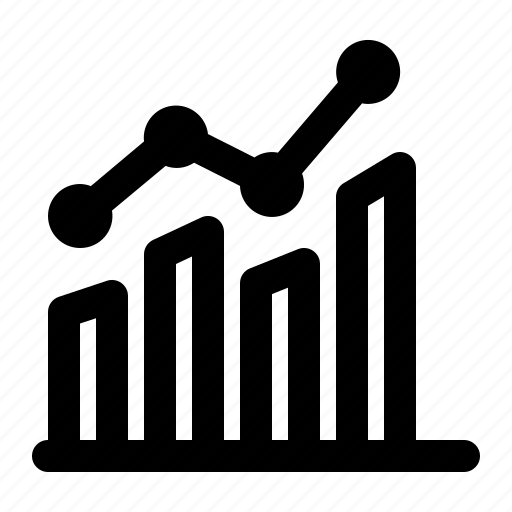analytics, bar, business, chart, graph, statistics, stock icon