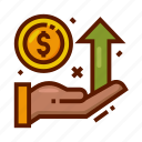 currency, finance, income, money, profit, statistic