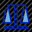 fair, finance, law, money icon