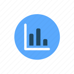 bar graph, chart, finance, graph, projection icon