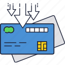 bank, card, credit, money, online, payment, transfer icon