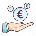 currency protection, financial protection, money protection, saving money, secure finance, secure money icon