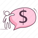 business chat, financial chat, sms, speech bubble, text icon