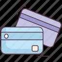 atm card, bankcard, credit card, debit card, smartcard icon