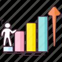 business entrepreneur, business growth, business success, businessman success, leadership icon