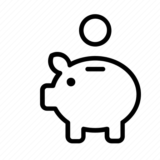 bank, finance, money, piggy, piggybank, savings icon