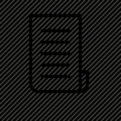 bill, file, paper icon