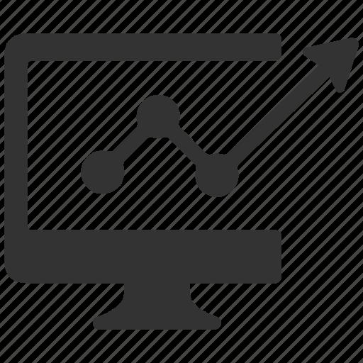 analysis, analytics, bar, business, chart, charts, computer icon