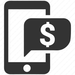 bank, banking, economy, finance, mobile banking, money icon