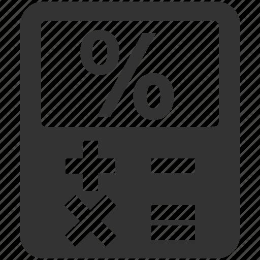 business, calculation, calculator, finance icon