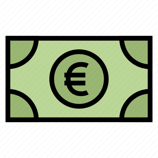 Cash, currency, euro, money icon - Download on Iconfinder