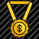 award, business, medal