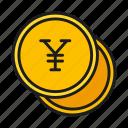currency, money, yen