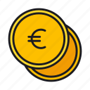 currency, euro, finance