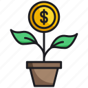 business, growth, plant