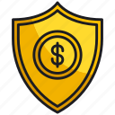 business, finance, money, protection, security, shield