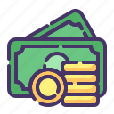 accounting, asset, banking, business, currency, finance, money icon