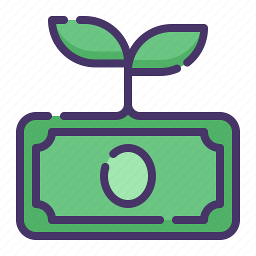 accounting, banking, business, currency, finance, growth, money icon