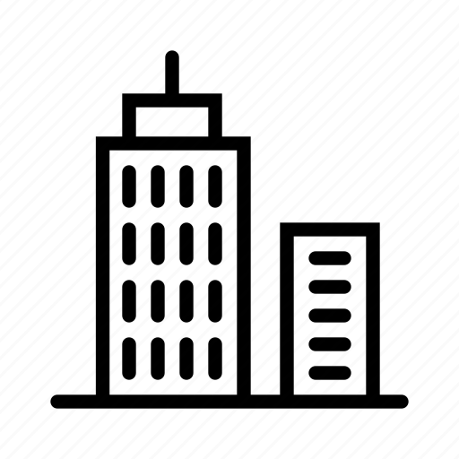 bank, building, business, city, house, skyscraper icon