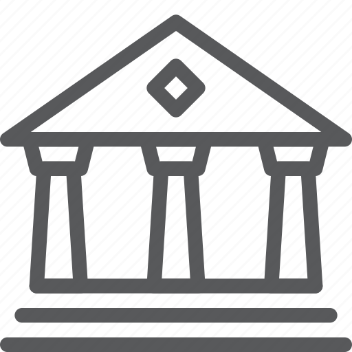 bank, building, business, finance, money, save, transfer icon