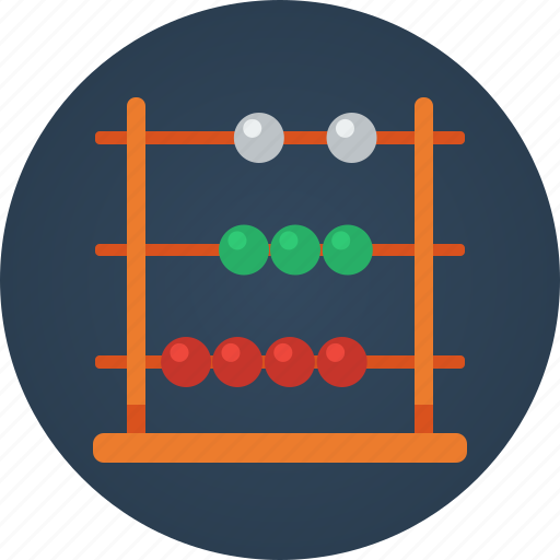 abacus, calculate, count, finance, math icon