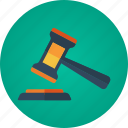 auction, auction hammer, bid, bidding, gavel, hammer icon