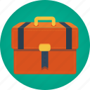 attaché, bag, baggage, briefcase, case, valise icon