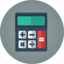 calculate, calculator, finance, math icon