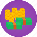 bank, bank notes, bills, cash, coins, money, notes, rich, treasure icon