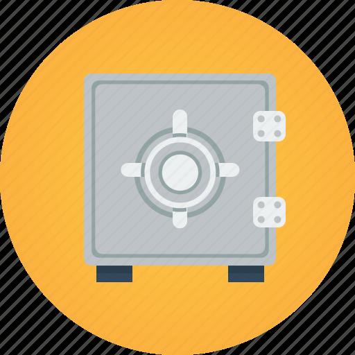 bank, safe, secure, secured icon