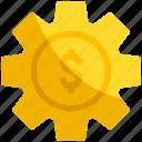 gear, money, setting