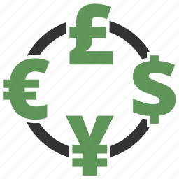 buy, cash, converter, currency, dollar, ecommerce, finance, financial, forex, money, payment icon