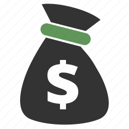 bag, bank, banking, cash, currency, dollar, ecommerce, finance, financial, money, money bag, moneybag, price, prosperity, purse, rich, sack icon