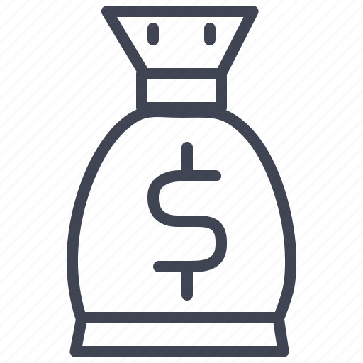bag, business, currency, finance, money icon