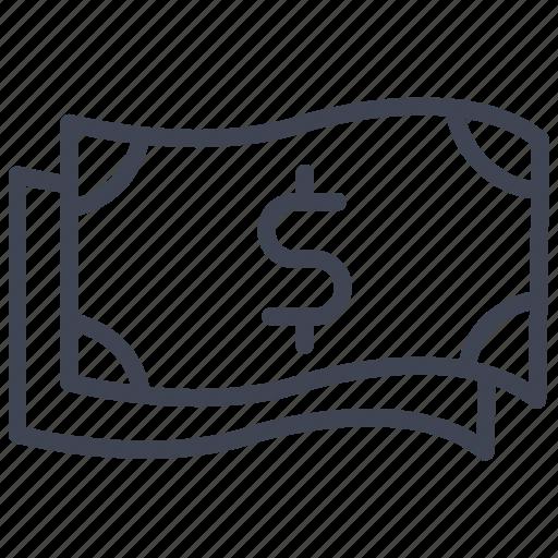 bill, cash, dollar, finance, money, multiple icon