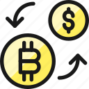 crypto, currency, bitcoin, dollar, exchange