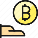 crypto, currency, bitcoin, give