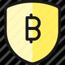 crypto, currency, bitcoin, shield