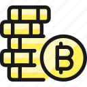 crypto, currency, bitcoin, stack, coins