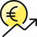 currency, euro, increase