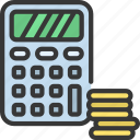 calculate, finances, accountant, accounting, cash