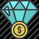 diamond, price, value, wealth