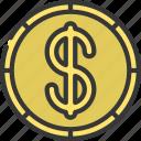 dollar, coin, cash, currency, finance, dollars